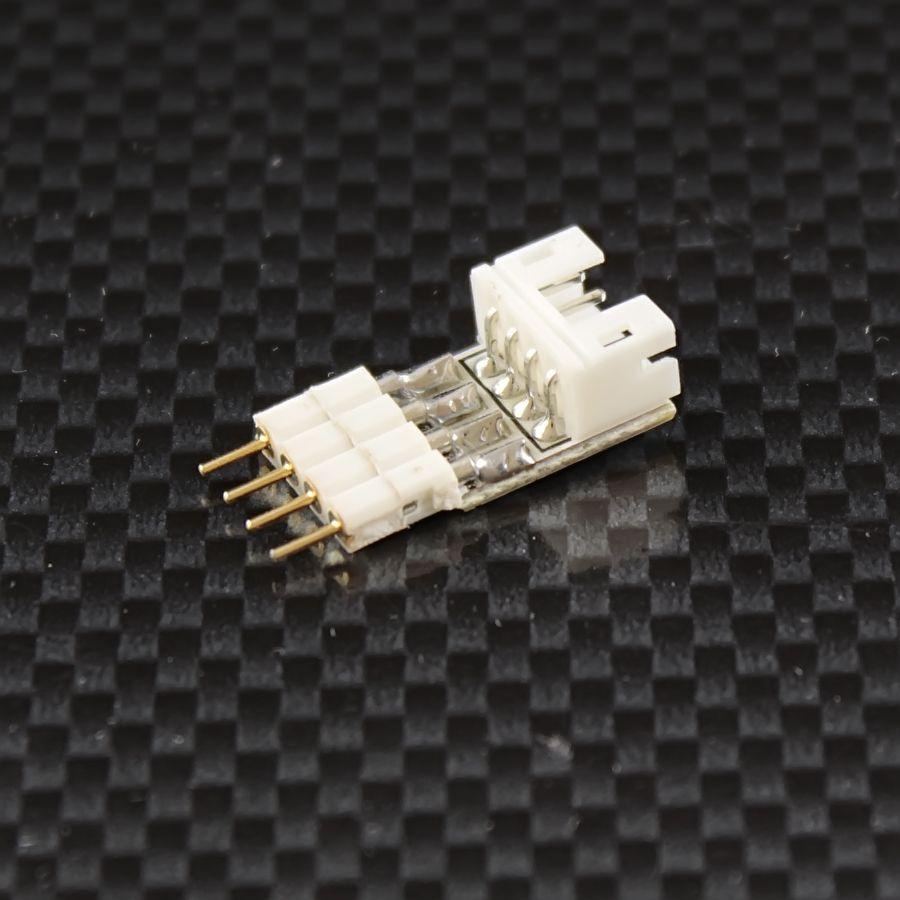 Quick-System 4polig 2.54 – Steckerplatine 4polig auf 4polig
