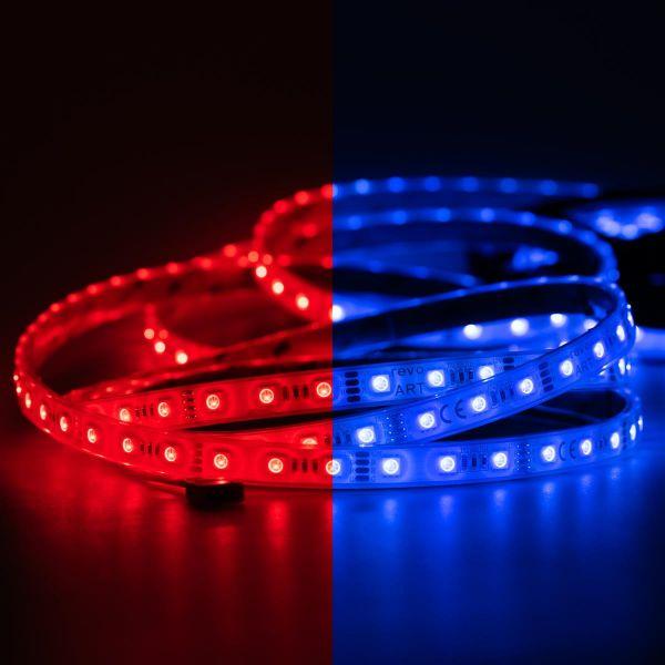 12V wasserfester LED Streifen – RGB – 60 LEDs je Meter – IP67