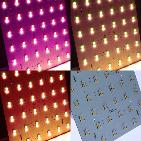24V Matrix Modul – RGBWW– 15x15cm – eckig
