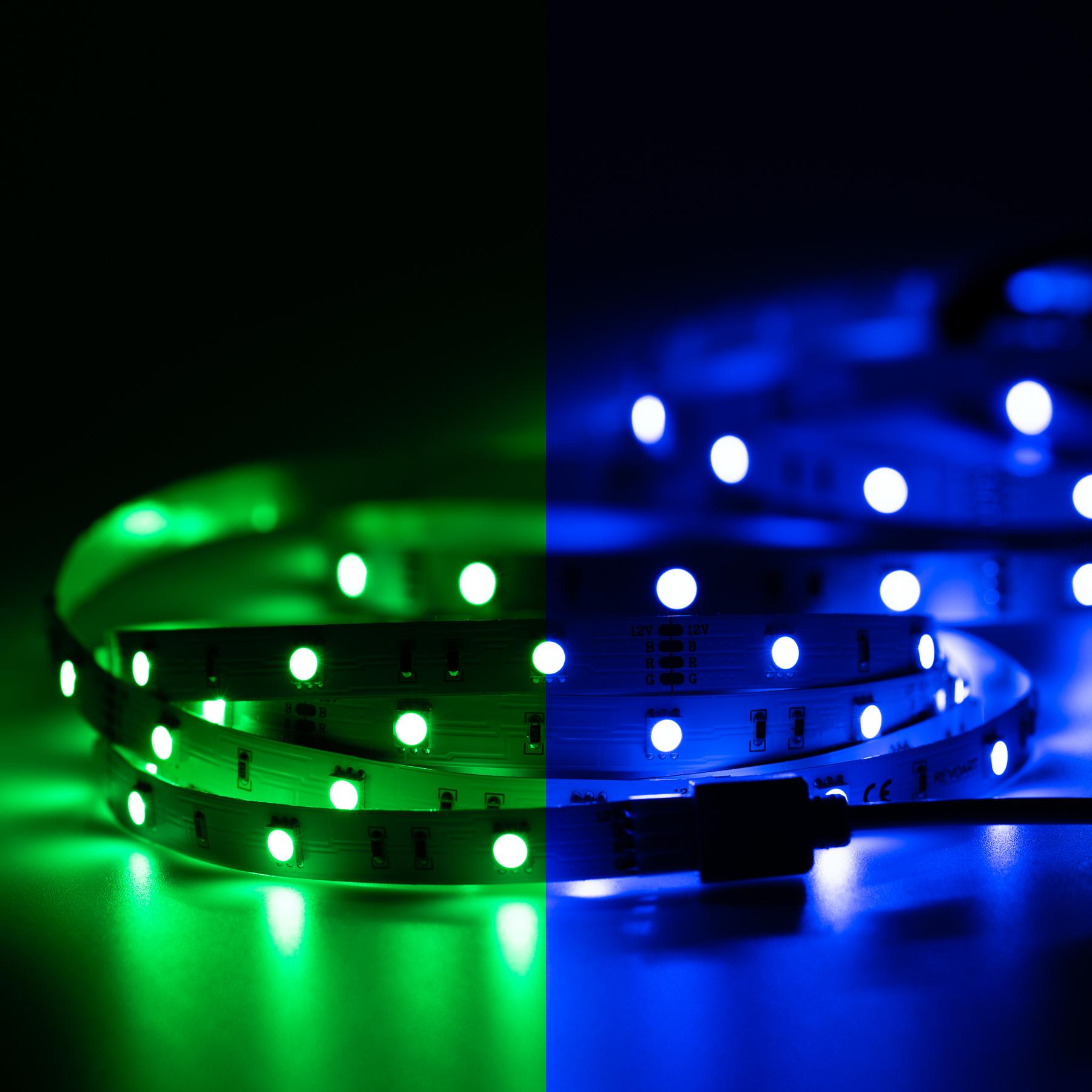 30cm LED SMD Leiste Selbstklebend Streife mit und Ohne 12V Netzteil  5050 Chip
