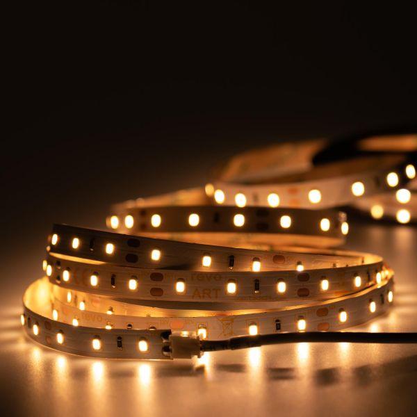 12V LED Streifen – warmweiß – 60 LEDs je Meter – alle 5cm teilbar