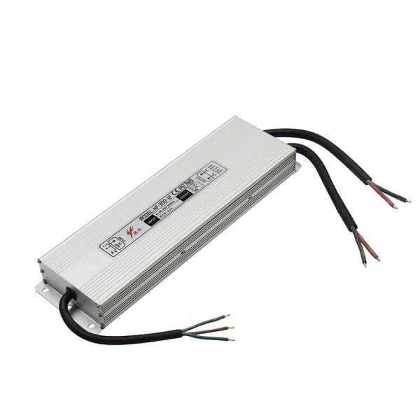 24V DC – wasserfestes Netzteil stabilisiert – 16,7A – 400Watt – IP67