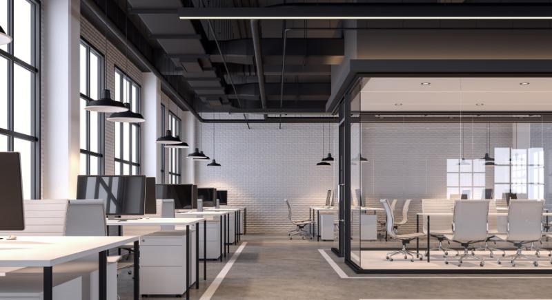 LED Büro