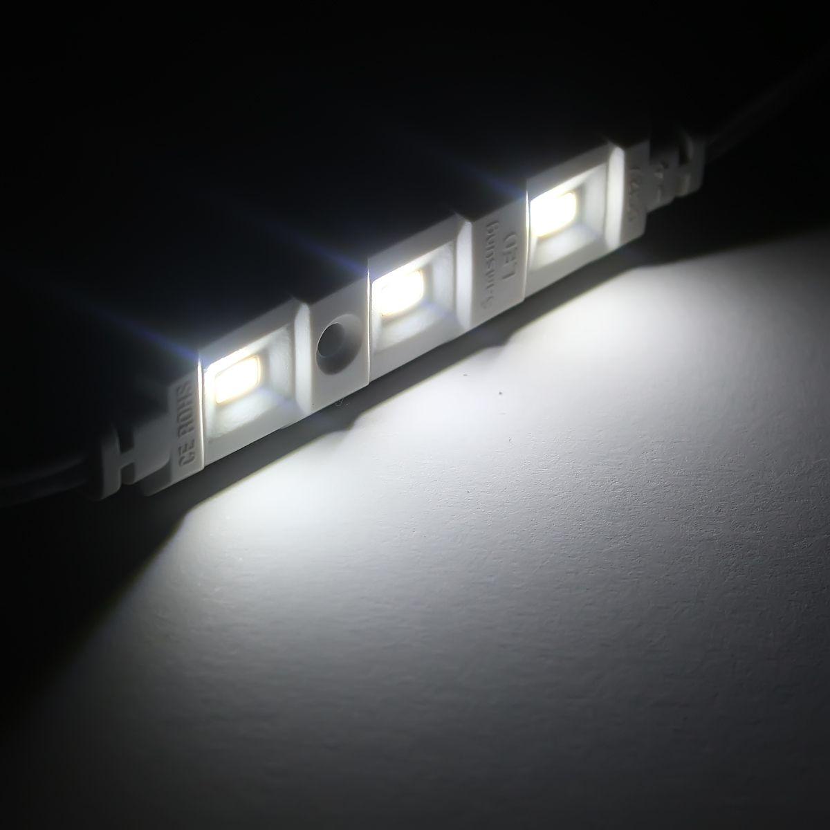 12V wasserfestes LED Modul – weiß – IP65