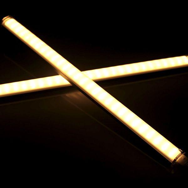 24V Aluminium LED Leiste steckbar – warmweiß – 100cm