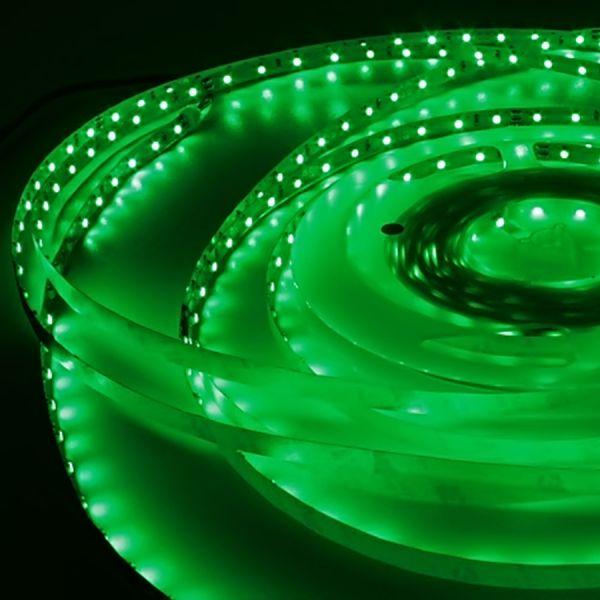 LED Streifen flexibel selbstklebend - LED-Strip 12V grün - je 5cm 3 LEDs (ab 10,00Euro/m)