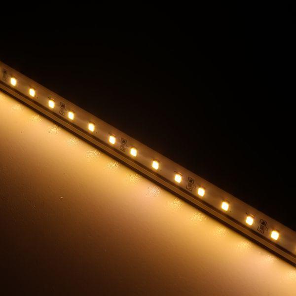12V Quick LED-Lichtleisten Modul - 200mm 18x 2835 SMD LEDs - warmweiss 126lm
