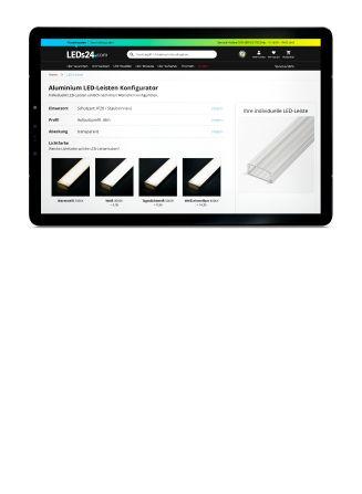 Konfigurieren Sie sich Ihre individuelle LED-Leiste