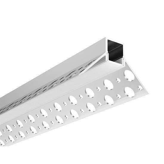 Aluminium LED Trockenbau Fliesen Eckprofil 4 4 x 2 5 x