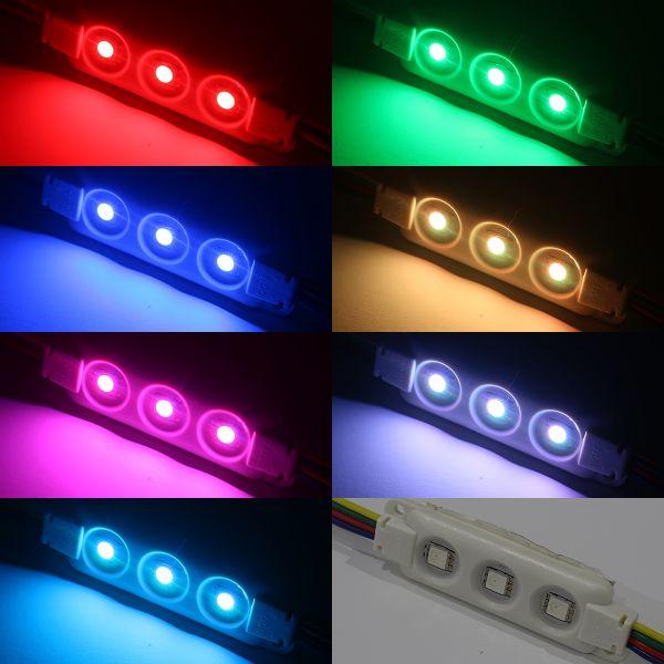 12V wasserfestes LED Modul – RGB – IP65